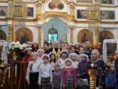 Покровский концерт воскресной школы в Климовичах