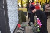 Священник принял участие в мероприятии, посвященном освобождению Черикова
