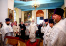 В праздник Архангела Михаила архиепископ Софроний совершил Литургию в городе Климовичи