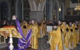 Торжественное богослужение и собрание духовенства в честь 30-летия Могилевской епархии