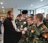 Рождественская встреча в Могилевском кадетском училище