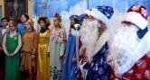 Рождественское представление на приходе Свято-Никольского храма г.Кричева
