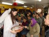 В Кричеве насельников психоневрологического интерната поздравили с Рождеством Христовым