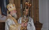 Архиерейское служение в праздничную ночь Рождества Христова