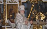 Архиерейское служение в праздник обрезания Господня и день памяти святителя Василия Великого