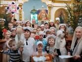 Рождественский утренник в Свято-Михайловском храме г.Климович