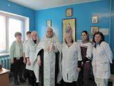 Рождественское поздравление в Чериковской районной больнице