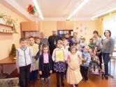 С Рождеством Христовым поздравили воспитанников развивающего центра в Черикове