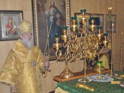 Архиепископ Софроний совершил Литургию в а/г Ходосы Мстиславского района