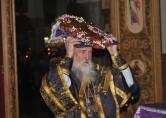 Архиепископ Софроний совершил Всенощное бдение с выносом Креста Господня в Спасском соборе