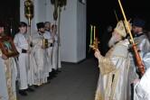 Архиепископ Софроний совершил Пасхальное богослужение в Спасо-Преображенском соборе