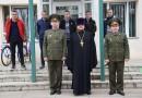 Священник в Черикове благословил призывников в Вооруженные Силы РБ