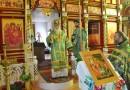 Архиерейское служение в День Святой Троицы