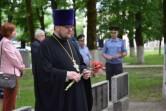 Благочинный Чериковского округа  принял участие в митинге, посвящённомДню всенародной памяти жертв Великой Отечественной войны