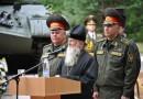Архиепископ Софроний участвовал в торжественной церемонии передачи ордена Красной звезды базе хранения танкового имущества