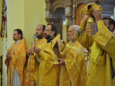 Престольный праздник отметили в приходе храма Пророка Иоанна Крестителя