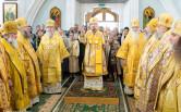 Архиепископ Софроний и белорусские архиереи сослужили Патриаршему Экзарху