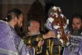 Архиерейское служение в канун праздника Воздвижения Честного и Животворящего Креста Господня