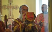 Архиерейское служение в  день Усекновения главы Крестителя Господня Иоанна