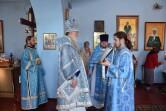 Архиерейское служение в праздник Рождества Богородицы