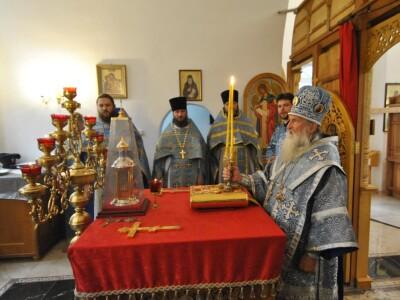 Архипастырский визит в город Горки