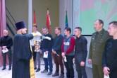 В Черикове священник благословил призывников на военную службу