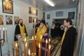В Солтановском психо-неврологическом интернате освятили молитвенную комнату