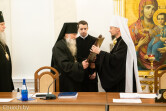 Архиепископ Софроний принял участие в очередном заседании Синода Белорусской Православной Церкви