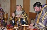 В день своего 70-летия архиепископ Софроний совершил Литургию в Спасском соборе города Могилева