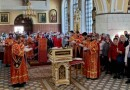 Панихида в Трехсвятительском соборе г.Могилева