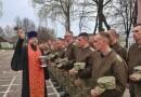 Воинов поздравили с Пасхой Господней