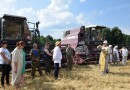 В Чериковском районе священник благословил сбор нового урожая хлеба