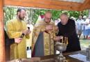 Освящение источника, крестный ход и народный праздник в Чериковском районе