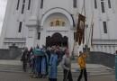 Архиепископ Софроний совершил утреню с чином Погребения Пресвятой Богородицы