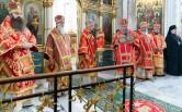 Архиепископ Софроний сослужил митрополиту Вениамину в День его тезоименитства