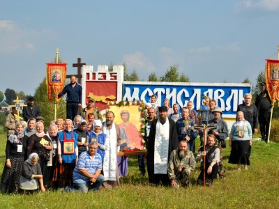 Завершился пеший крестный ход из Могилева в Мстиславль в честь 800-летия св.блг. князя Александра Невского