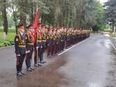 Торжественным построением 1 сентября начался учебный год в Могилевском областном кадетском училище
